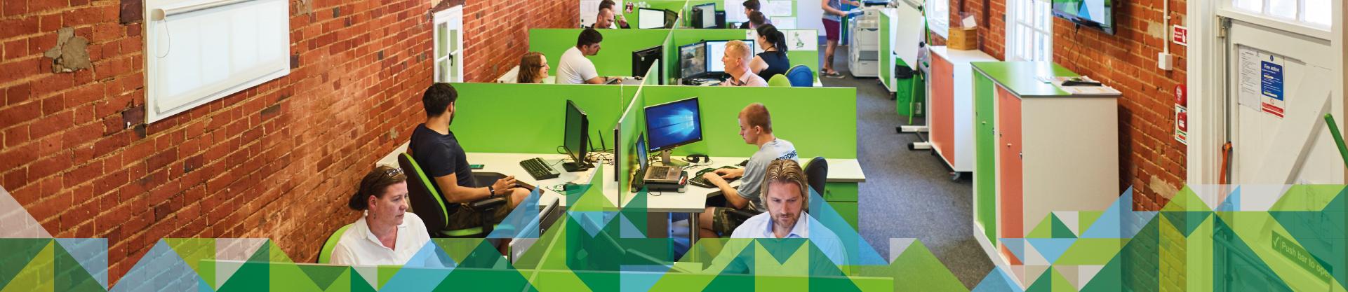 CATSURVEYS Head Office with staff